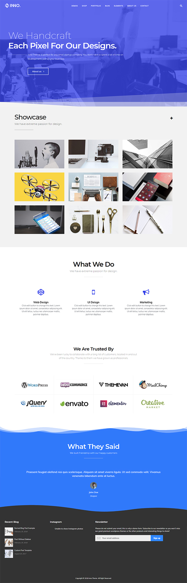 Inno Multi-Purpose WordPress Theme