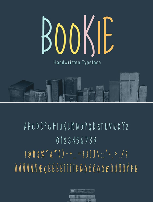 Bookie Typeface