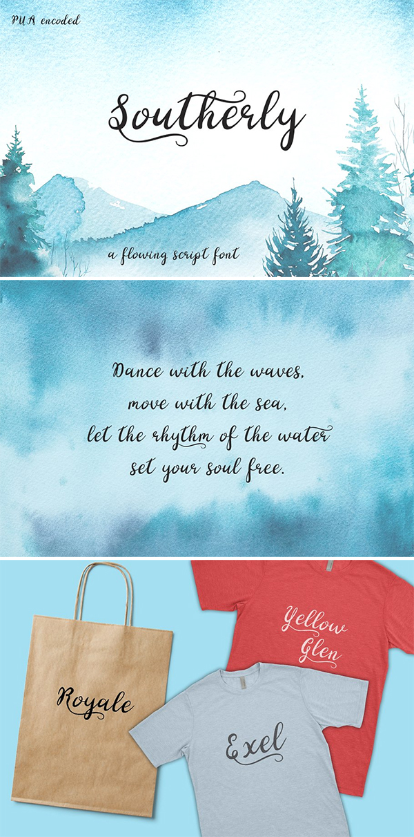 Southerly Script Font