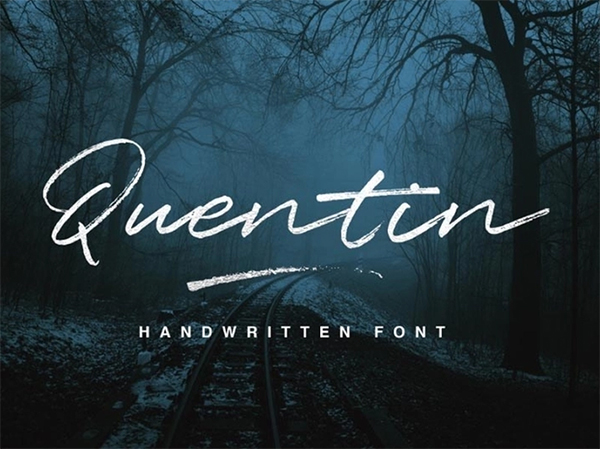 Quentin Handwriting Font Free