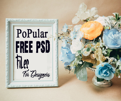 Freebie : Popular Free PSD Files For Designers