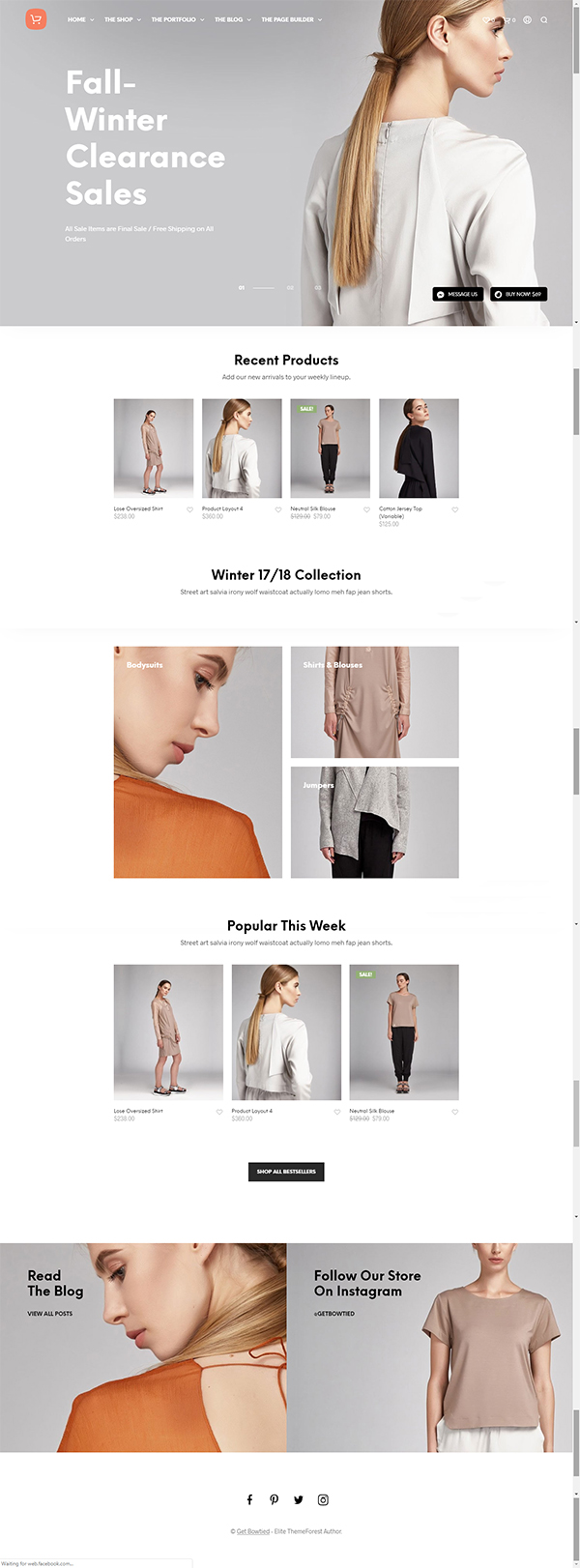 Shopkeeper - eCommerce WP Theme for WooCommerce