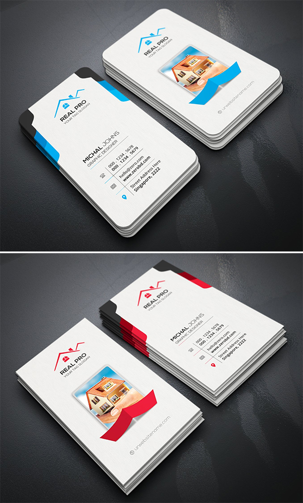 Awesome Simple Real Estate Business Card