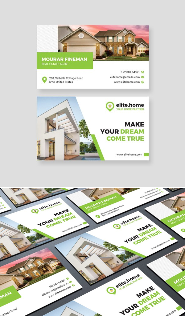 Amazing Real Estate Business Card