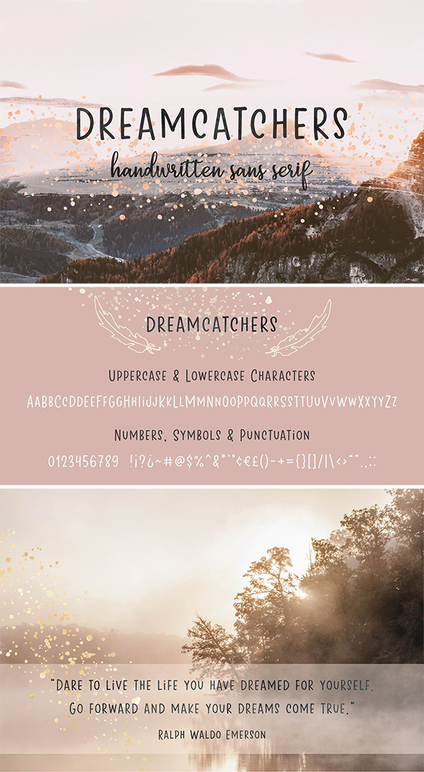 Dreamcatchers | Playful Sans Serif