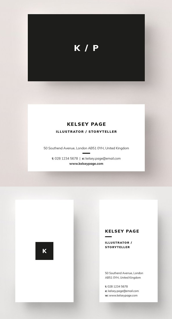 Business Card - Kelsey