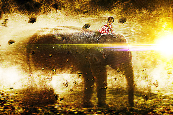Apocalypse Explosion Effect Photoshop Tutorial