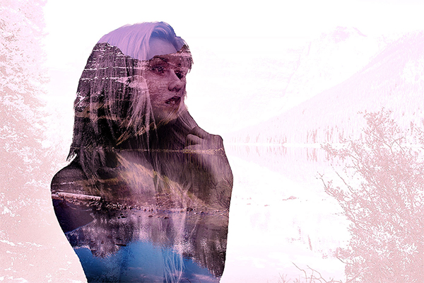 How to Easily Create Double Exposure Effect in Photoshop