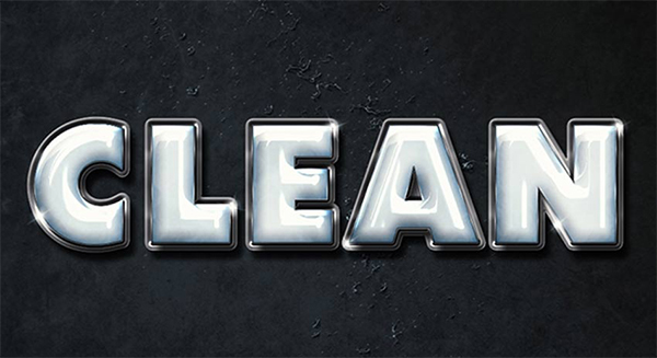 How to Create a Clean, Glossy Plastic Text Effect in Adobe Photoshop
