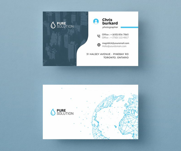 Awesome Corporate Business Card Template