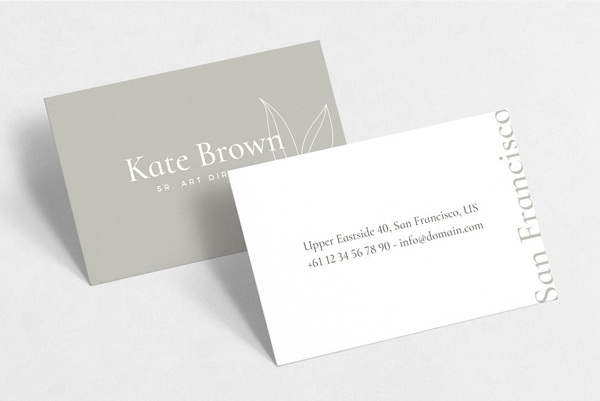 San Francisco Business Cards