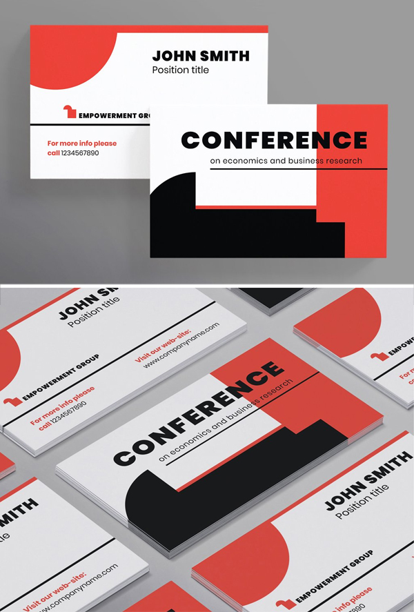 Conference Business Card