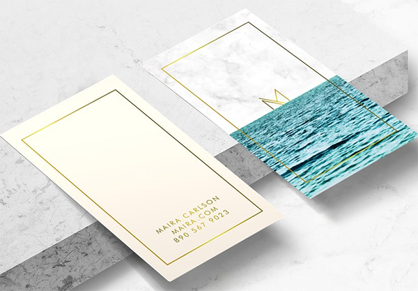 Ocean Business Card Template