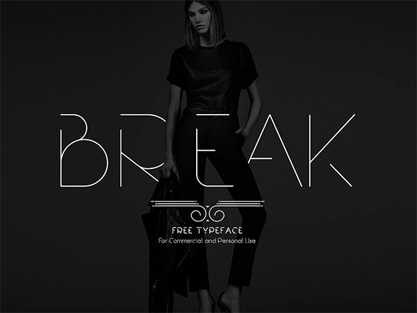 Break Fashion Free Font