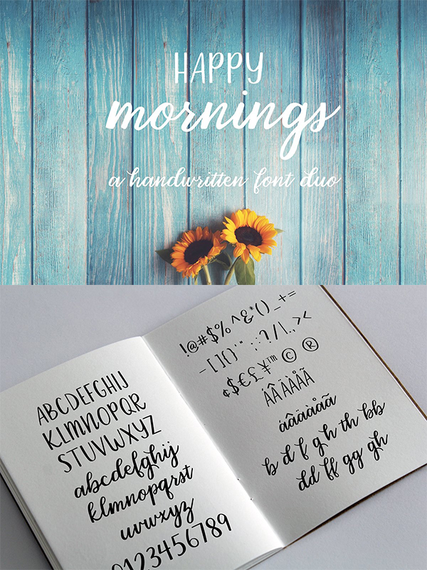 Happy Mornings Font
