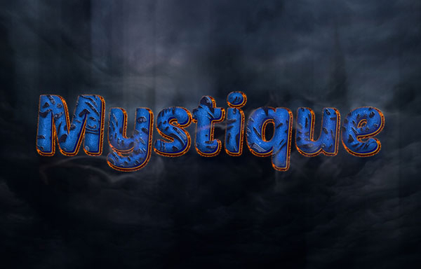 How to Create a Mystique-Inspired Text Effect in Adobe Photoshop