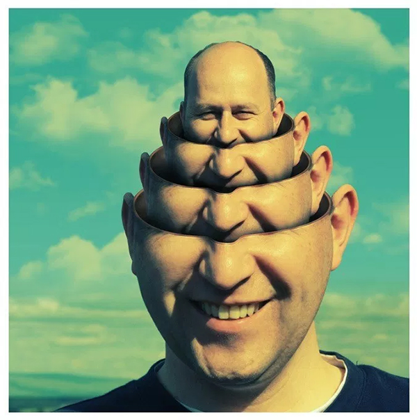 How to Create a Surreal Head Stack in Photoshop