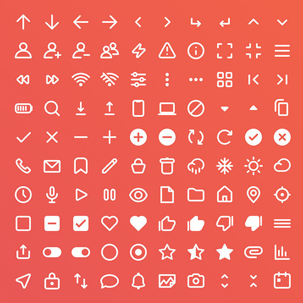 Free Icon Set 100 Icons