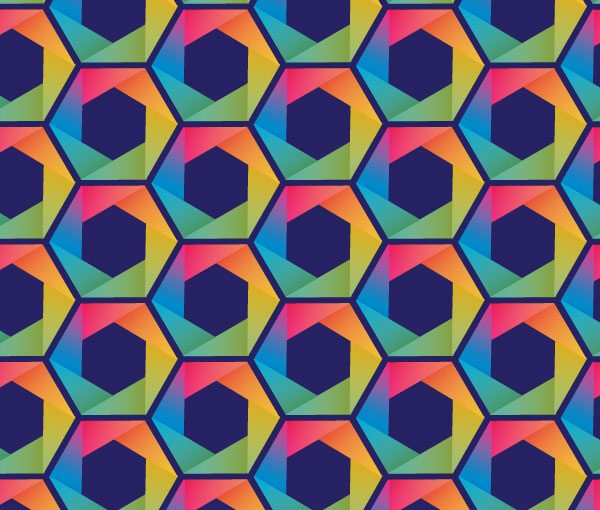 Put a Hex on Your Designs with this Hexagon Pattern Vector