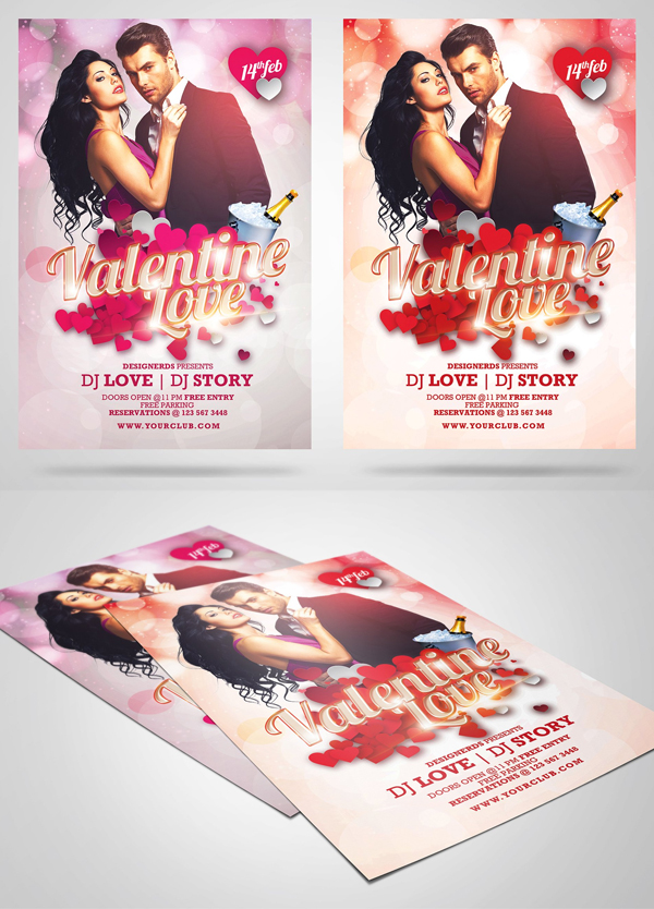Valentine Love Flyer
