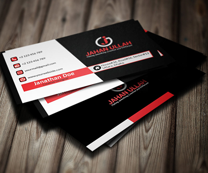 Post thumbnail of 20 Minimal & Attractive Business Card Templates Designs