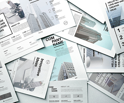 20 Minimal Hand-Picked Flyer Templates