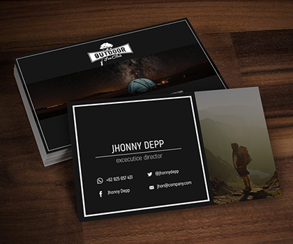 Attractive Creative Business Card PSD Templates