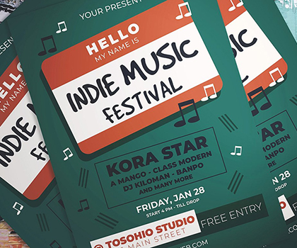 Post thumbnail of Stylish Eye-Catching Flyer Templates Designs