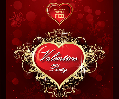 Valentine's Day Flyer Templates Designs
