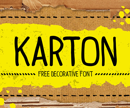 Free Font : Stylish Hand-Picked Free Fonts