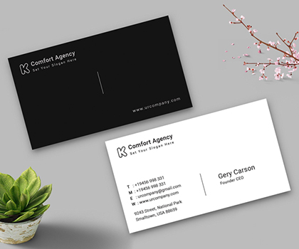 20 Unique Print Ready Business Card Templates Designs