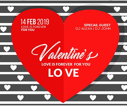 Post thumbnail of 15 Valentine's Day Love Flyer Templates