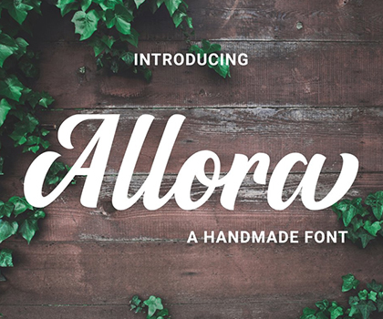 New Fresh Free Fonts For Designers
