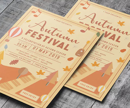 Attractive High Quality Flyer Templates Designs