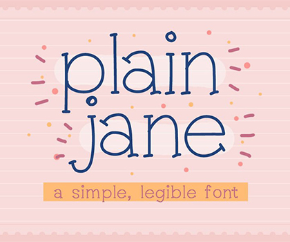 Creative Hand-Picked Free Fonts For Designers