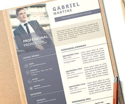 Fresh Impressive Resume / CV Templates