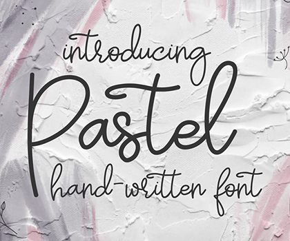 Stylish Hand-Picked Fonts For Designers