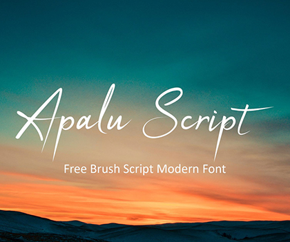 Post thumbnail of Free Font : 15 Stylish Free Fonts