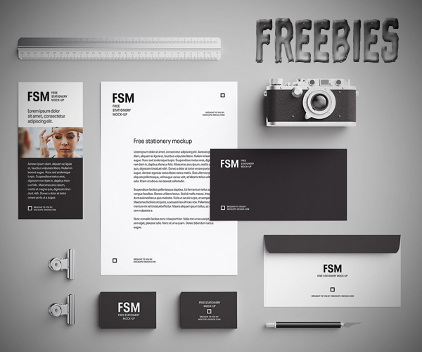 freebies   20 creative freebies for graphic designers