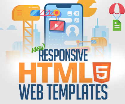 Responsive HTML Web Templates For Designers