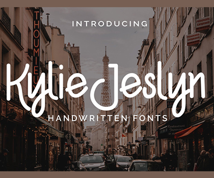 20 Popular Creative Fonts For Designers