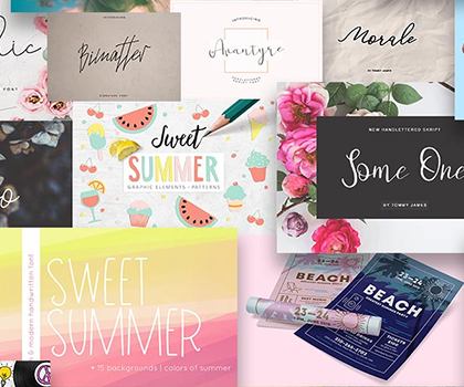 Amazing Magical Summer Bundle for Graphic Designers