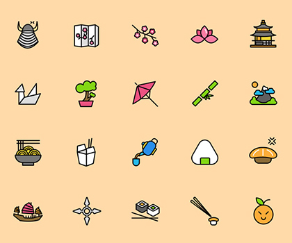 Freebie : 20 Creative Unique Icons For Designers