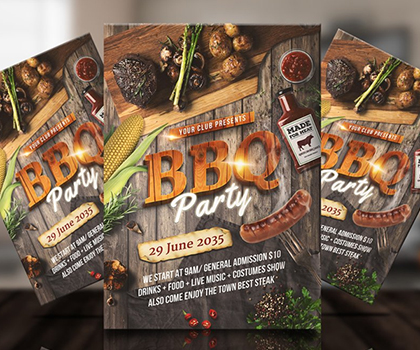 Attractive Fresh Flyer Template Designs