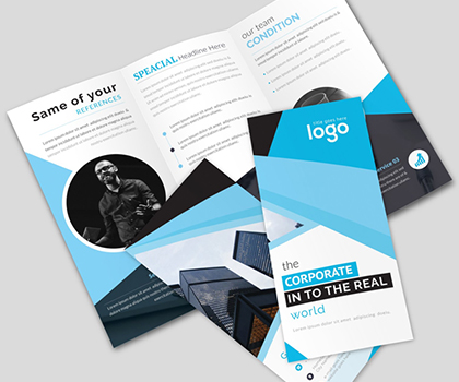 Awesome Tri-Fold Brochure Templates