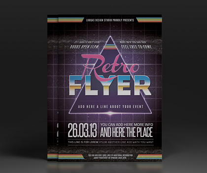 Creative Hand-Picked Flyer Template Designs