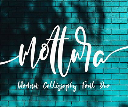 Modern Hand-Picked Fonts For Designers