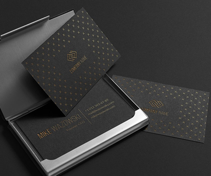 Post thumbnail of Modern Stylish Business Card Templates Designs