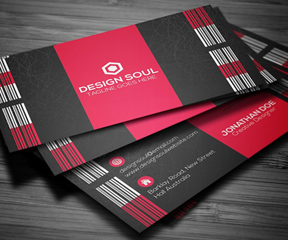 Awesome Minimal Business Card Templates Designs