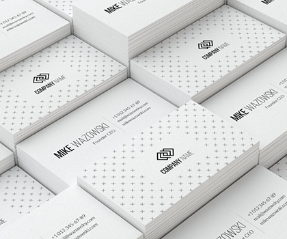 Stylish Business Card Templates Designs